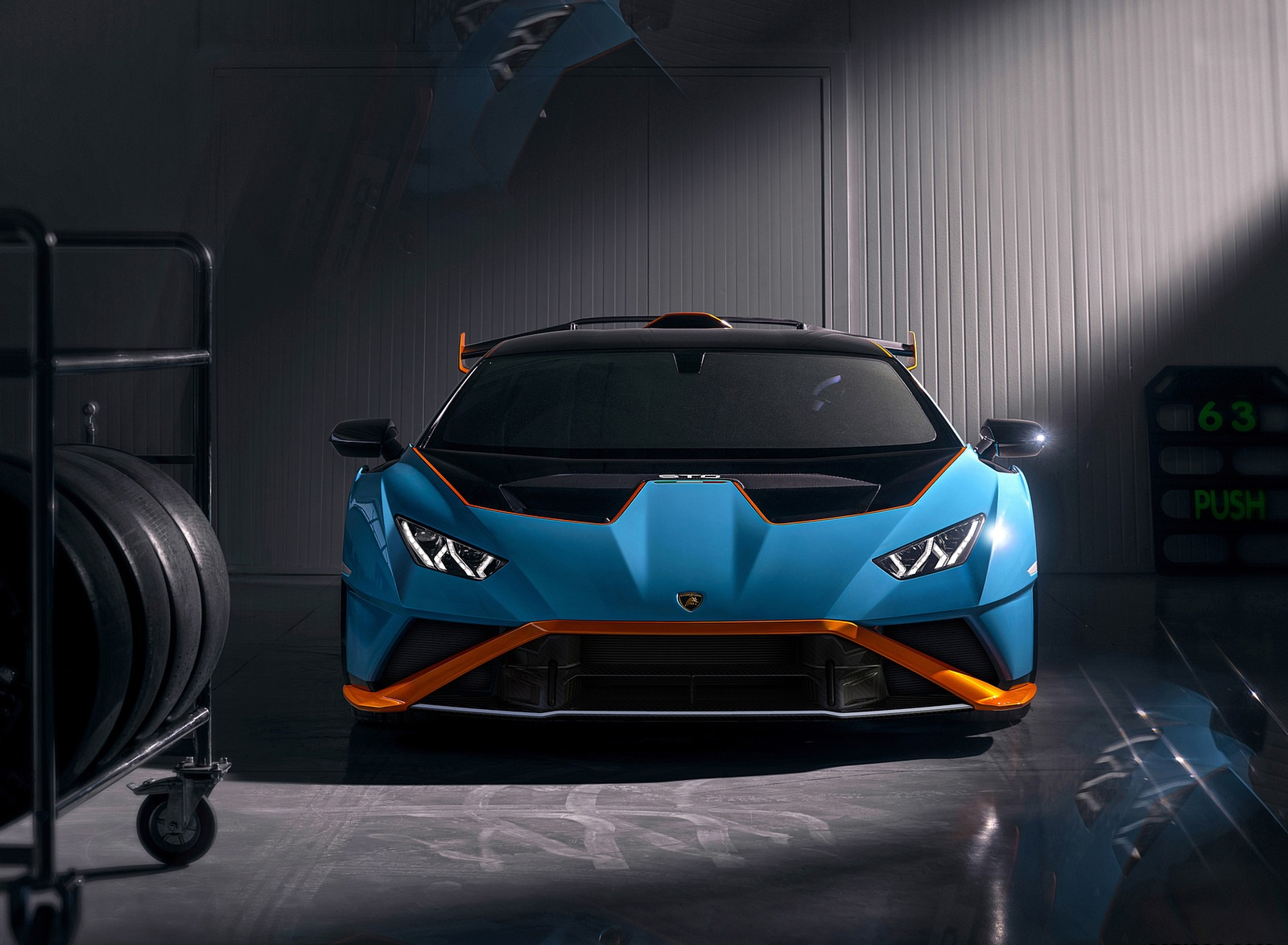 2021 Lamborghini Huracán STO Front Wallpapers (10)