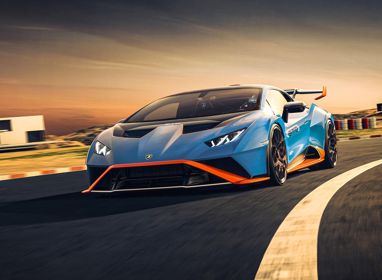 2021 Lamborghini Huracán STO Front Wallpapers (2)