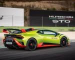 2021 Lamborghini Huracán STO Rear Three-Quarter Wallpapers 150x120 (14)