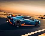 2021 Lamborghini Huracán STO Rear Three-Quarter Wallpapers  150x120 (4)