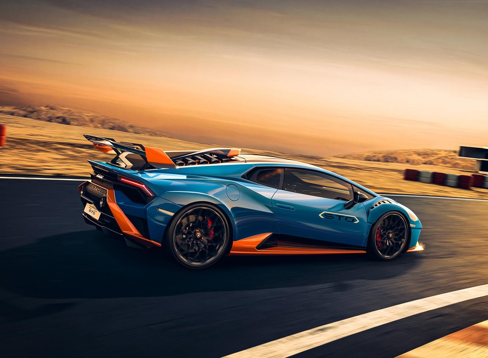 2021 Lamborghini Huracán STO Rear Three-Quarter Wallpapers  (4)