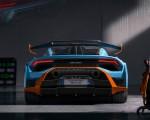 2021 Lamborghini Huracán STO Rear Wallpapers 150x120 (13)