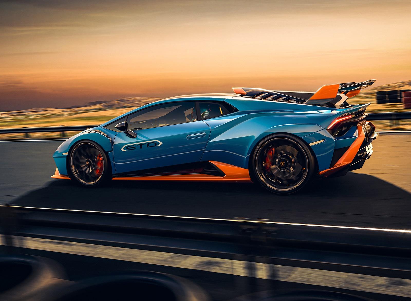 2021 Lamborghini Huracán STO Side Wallpapers (6)