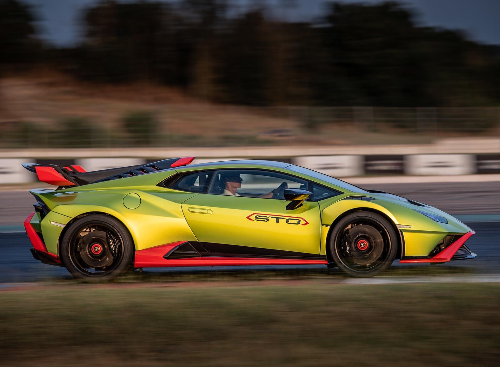 2021 Lamborghini Huracán STO Side Wallpapers (5)