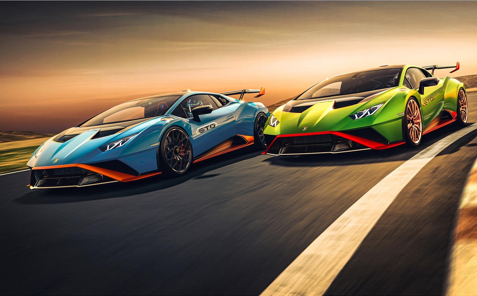 2021 Lamborghini Huracán STO Wallpapers (7)