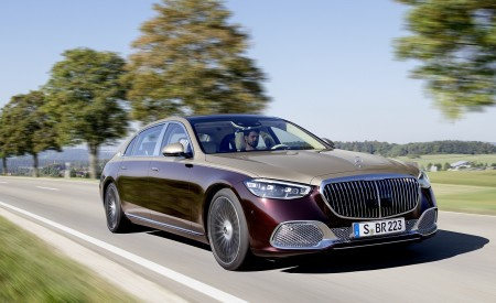 2021 Mercedes-Maybach S-Class Wallpapers HD