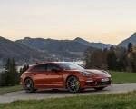 2021 Porsche Panamera 4 E-Hybrid Sport Turismo (Color: Papaya Metallic) Front Three-Quarter Wallpapers 150x120 (19)