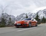 2021 Porsche Panamera 4 E-Hybrid Sport Turismo (Color: Papaya Metallic) Front Three-Quarter Wallpapers 150x120 (8)