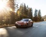 2021 Porsche Panamera 4 E-Hybrid Sport Turismo (Color: Papaya Metallic) Front Three-Quarter Wallpapers 150x120 (4)