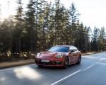 2021 Porsche Panamera 4 E-Hybrid Sport Turismo (Color: Papaya Metallic) Front Three-Quarter Wallpapers  150x120 (5)