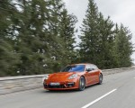 2021 Porsche Panamera 4 E-Hybrid Sport Turismo (Color: Papaya Metallic) Front Three-Quarter Wallpapers 150x120 (6)