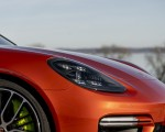 2021 Porsche Panamera 4 E-Hybrid Sport Turismo (Color: Papaya Metallic) Headlight Wallpapers 150x120 (31)