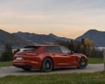 2021 Porsche Panamera 4 E-Hybrid Sport Turismo (Color: Papaya Metallic) Rear Three-Quarter Wallpapers 150x120 (22)