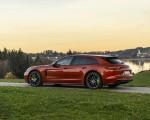 2021 Porsche Panamera 4 E-Hybrid Sport Turismo (Color: Papaya Metallic) Rear Three-Quarter Wallpapers 150x120 (23)