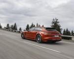 2021 Porsche Panamera 4 E-Hybrid Sport Turismo (Color: Papaya Metallic) Rear Three-Quarter Wallpapers  150x120 (13)