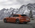2021 Porsche Panamera 4 E-Hybrid Sport Turismo (Color: Papaya Metallic) Rear Three-Quarter Wallpapers 150x120 (18)