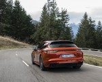 2021 Porsche Panamera 4 E-Hybrid Sport Turismo (Color: Papaya Metallic) Rear Wallpapers 150x120 (7)