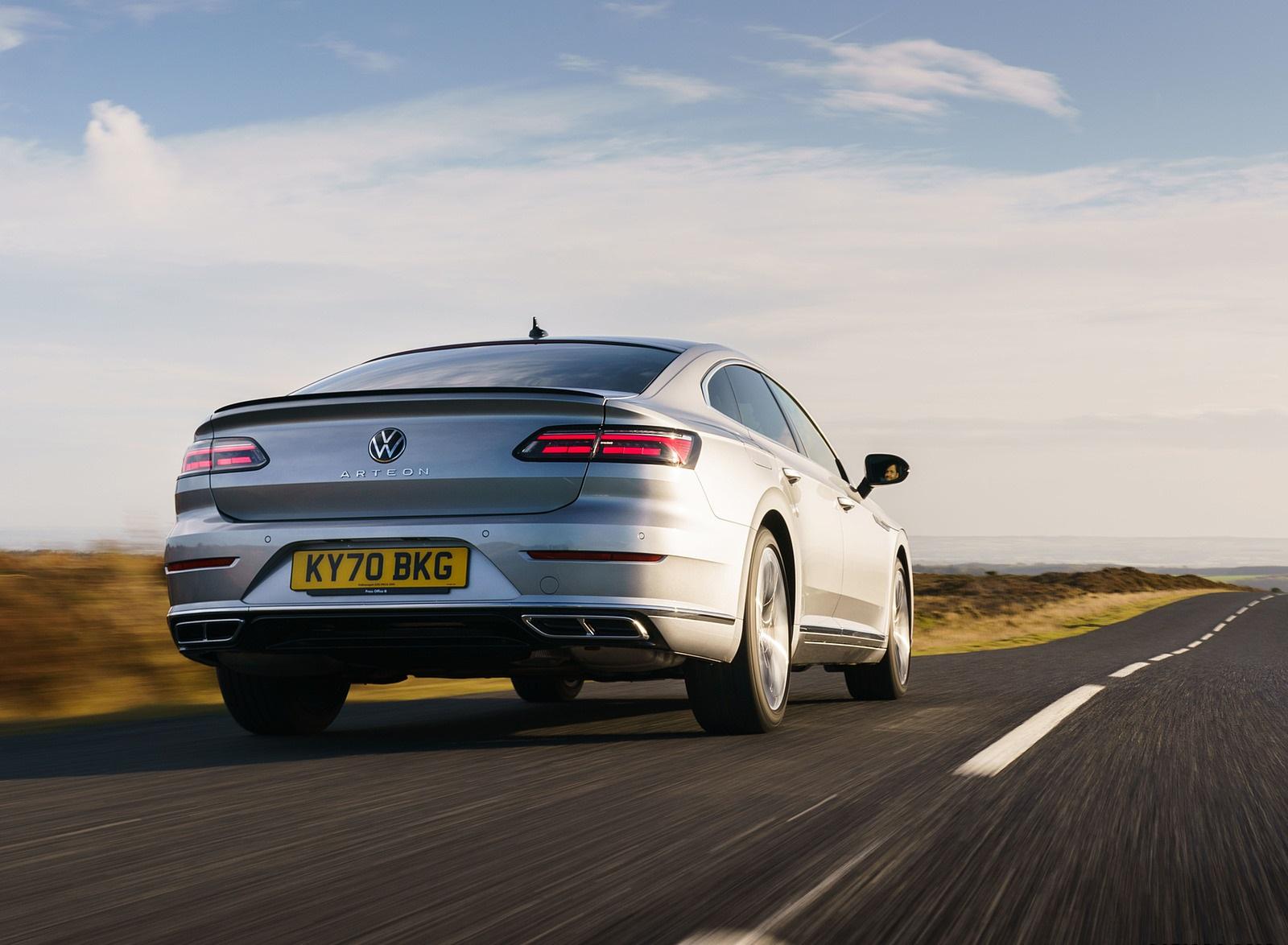 2021 Volkswagen Arteon (UK-Spec) Rear Wallpapers (6)