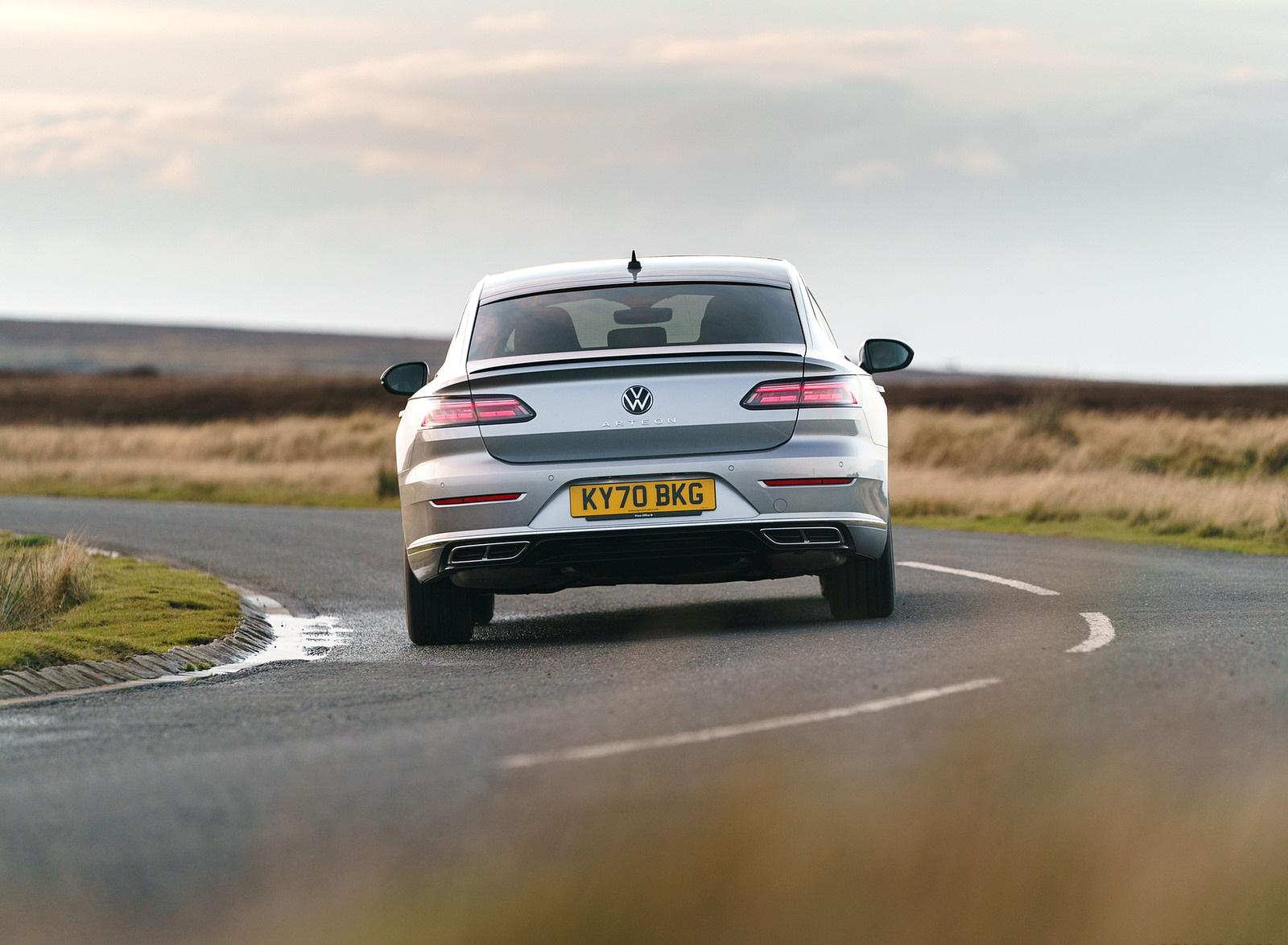 2021 Volkswagen Arteon (UK-Spec) Rear Wallpapers (10)