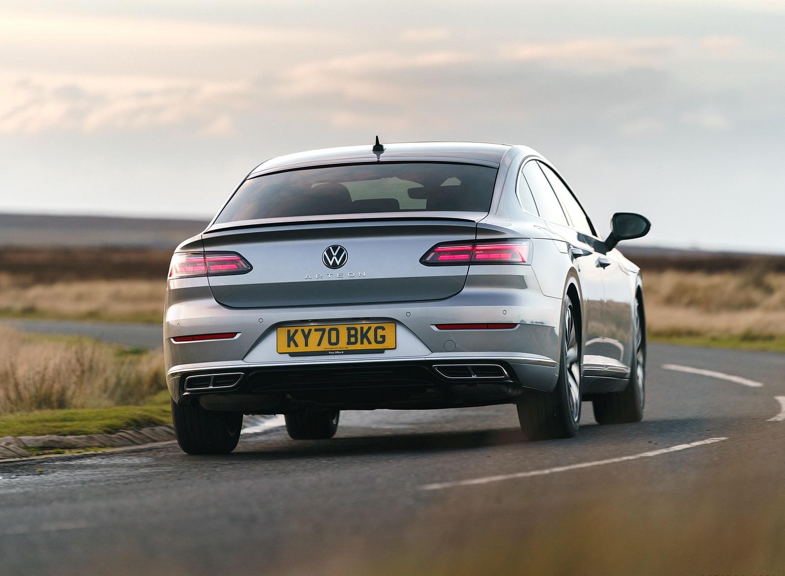 2021 Volkswagen Arteon (UK-Spec) Rear Wallpapers (7)