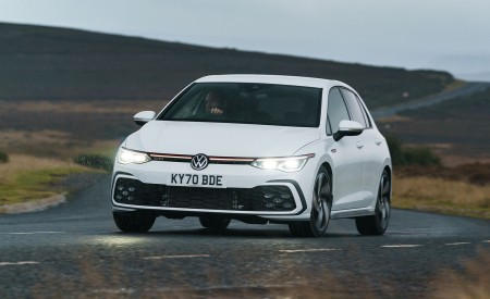 2021 Volkswagen Golf GTI (UK-Spec) Wallpapers HD