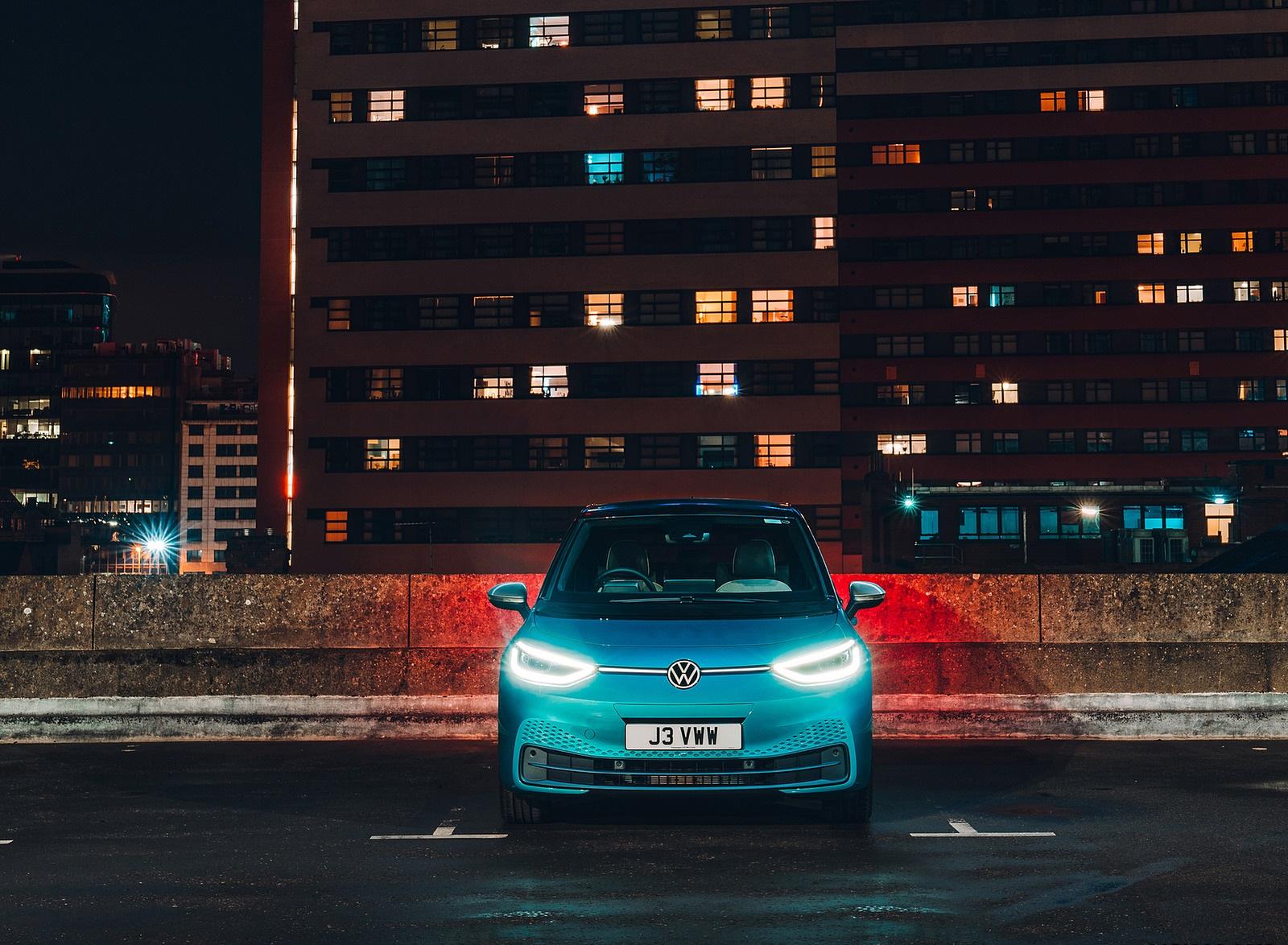 2021 Volkswagen ID.3 1st Edition (UK-Spec) Front Wallpapers (8)
