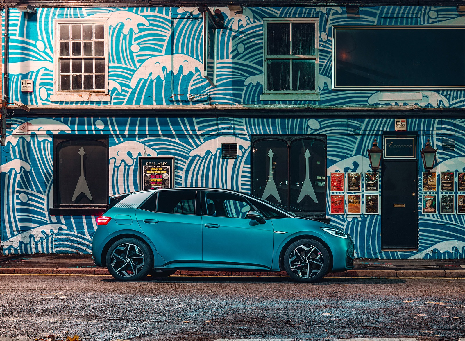 2021 Volkswagen ID.3 1st Edition (UK-Spec) Side Wallpapers (3)