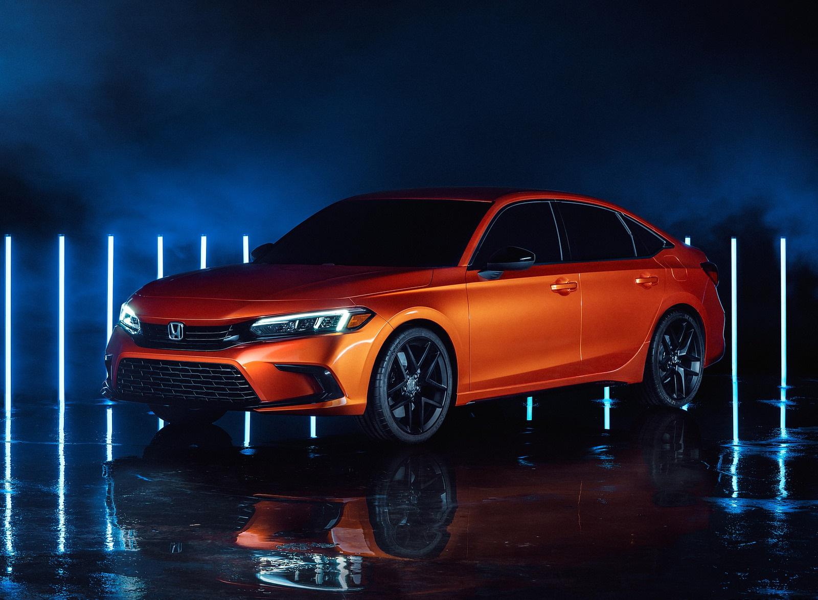 2022 Honda Civic Prototype Front Three-Quarter Wallpapers  (1)