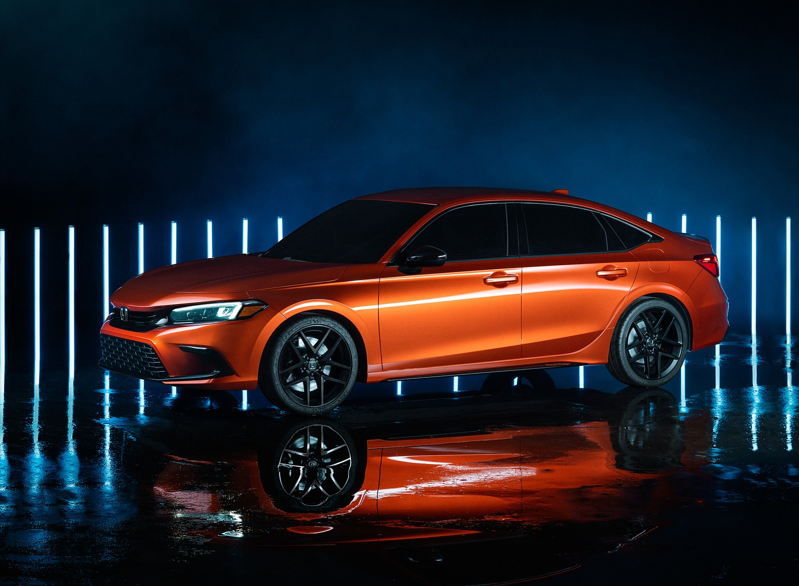 2022 Honda Civic Prototype Front Three-Quarter Wallpapers (2)
