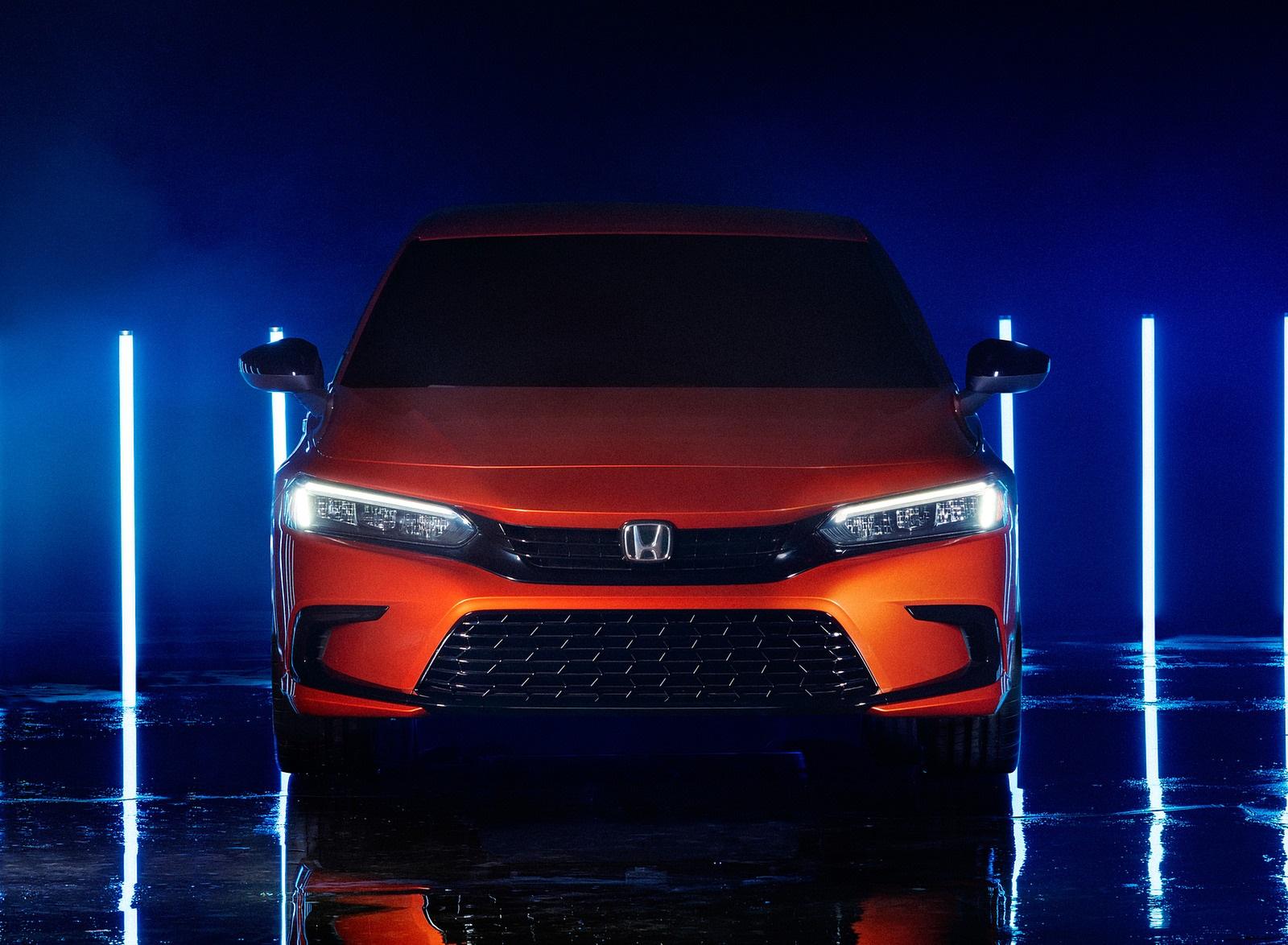 2022 Honda Civic Prototype Front Wallpapers (3)