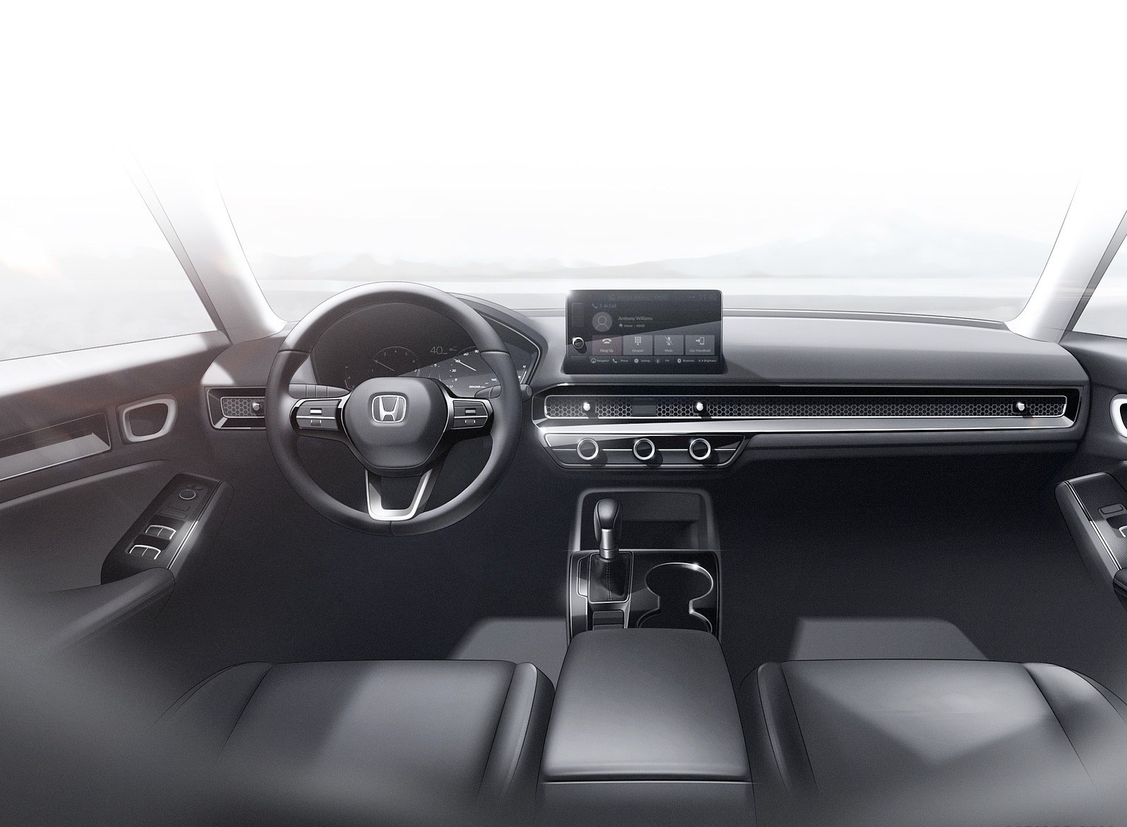 2022 Honda Civic Prototype Interior Wallpapers (9)