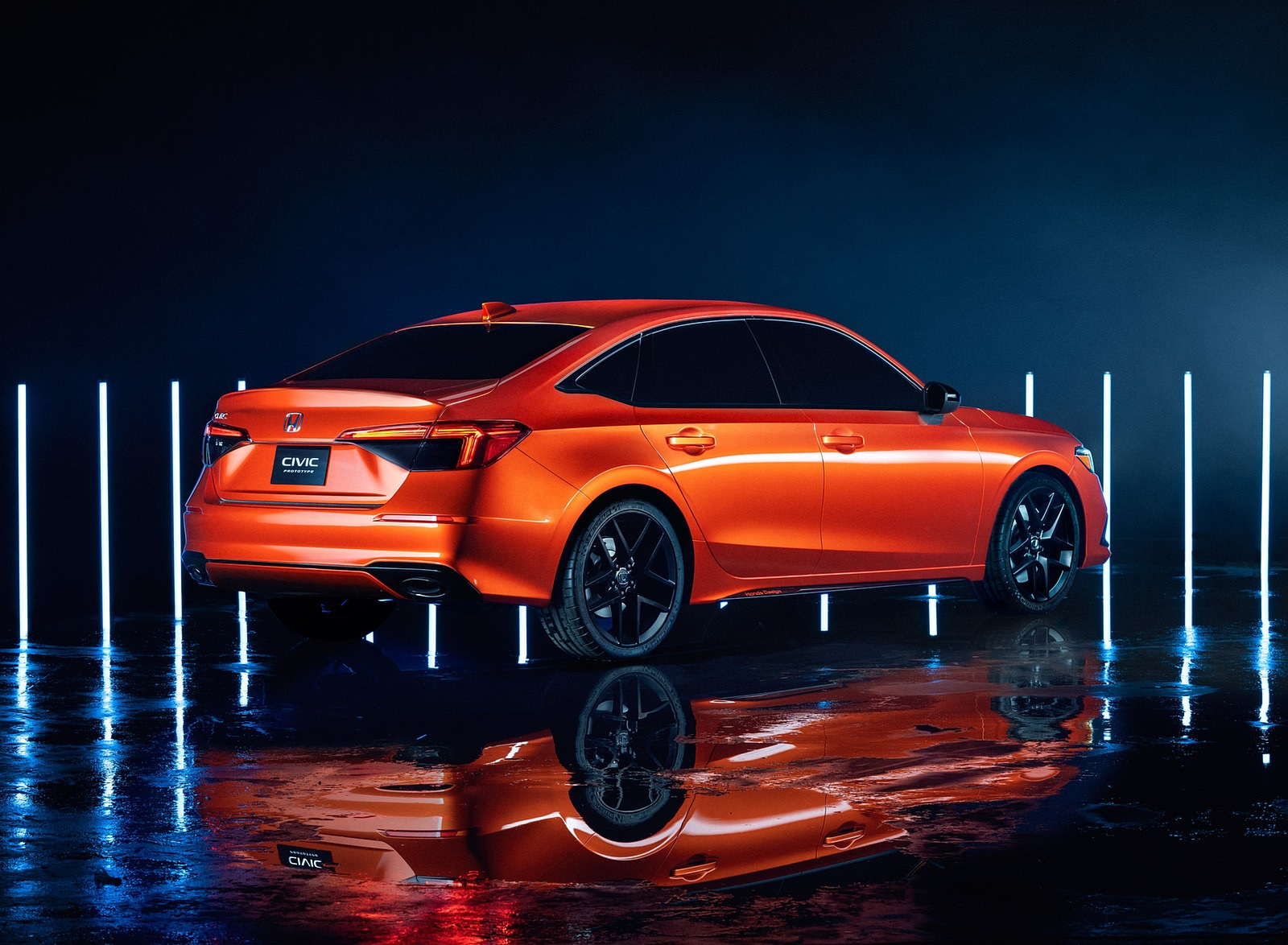 2022 Honda Civic Prototype Rear Three-Quarter Wallpapers (4)