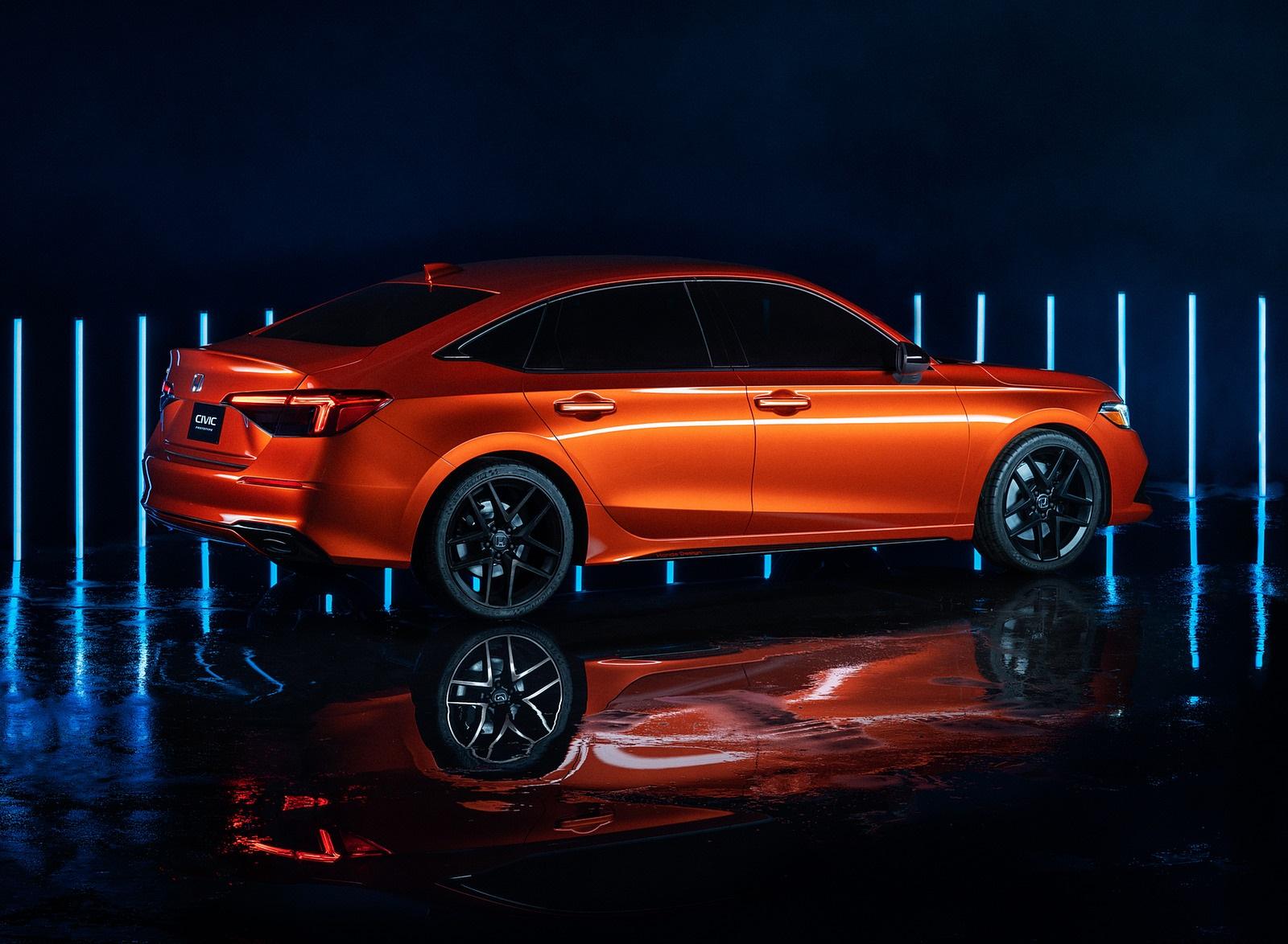 2022 Honda Civic Prototype Rear Three-Quarter Wallpapers (5)