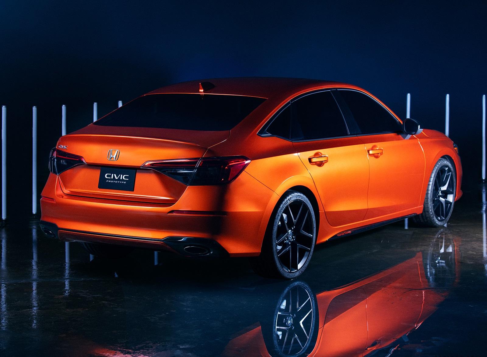 2022 Honda Civic Prototype Rear Three-Quarter Wallpapers (6)