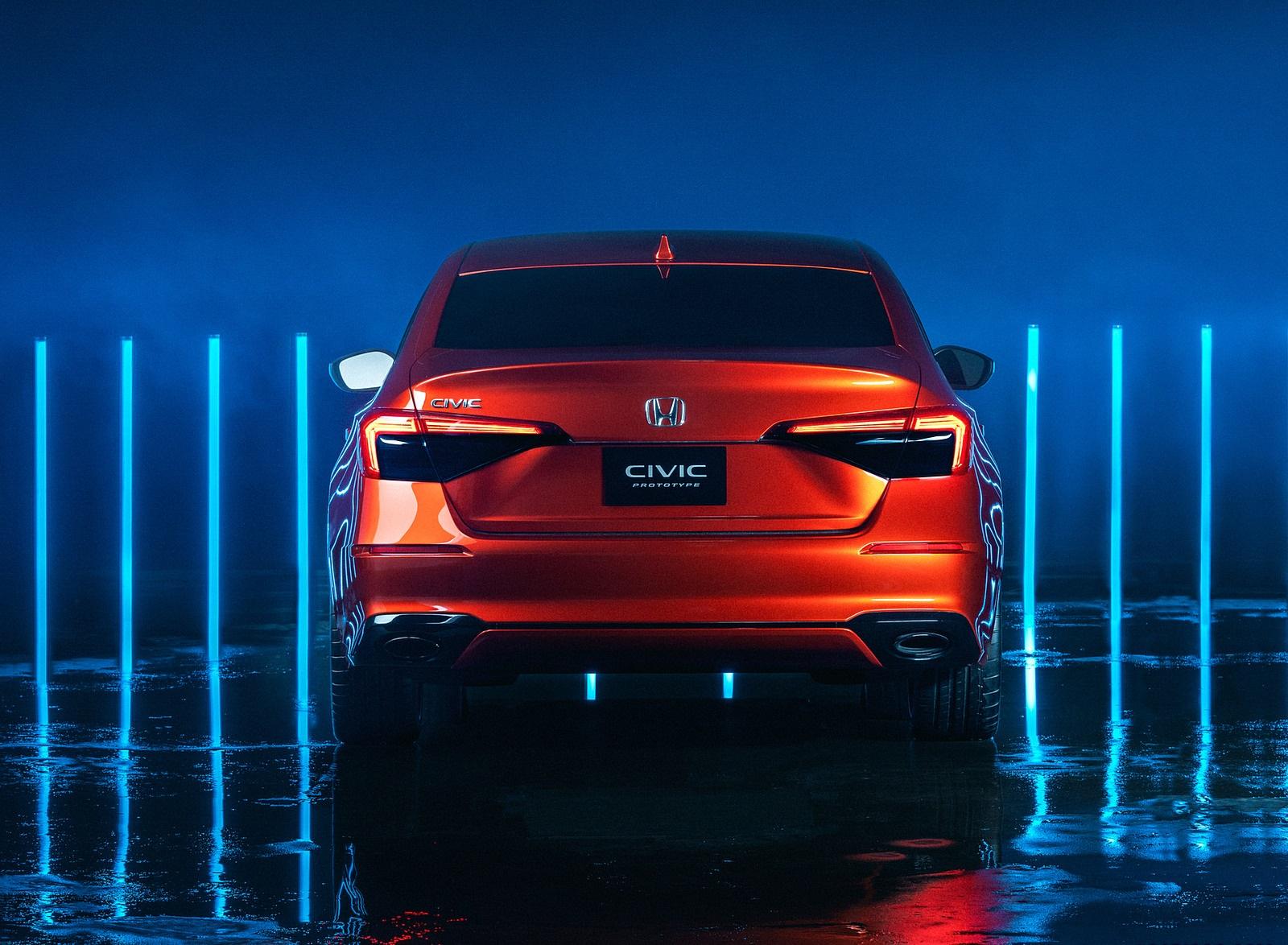 2022 Honda Civic Prototype Rear Wallpapers (7)