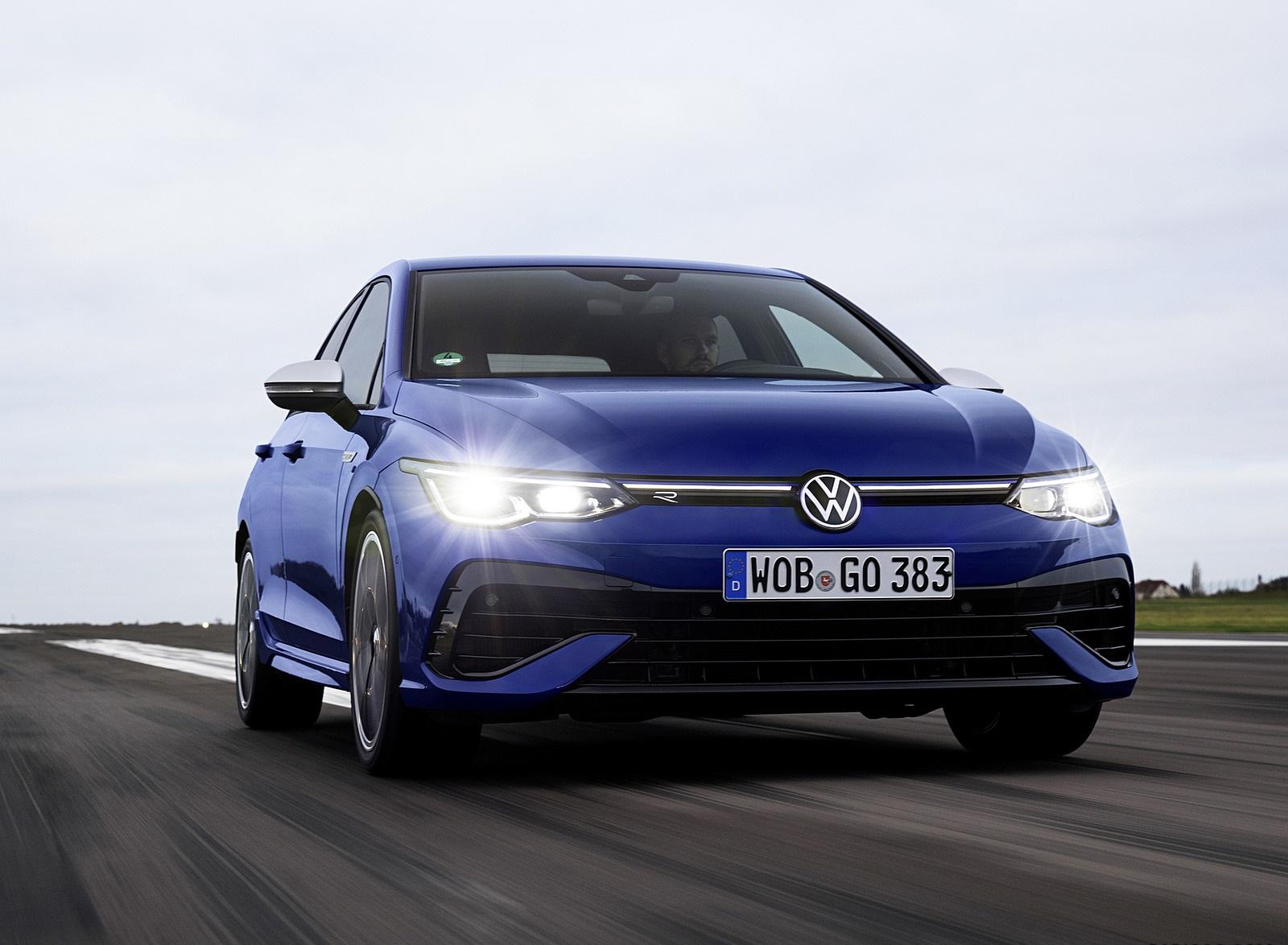 2022 Volkswagen Golf R Front Wallpapers  (4)
