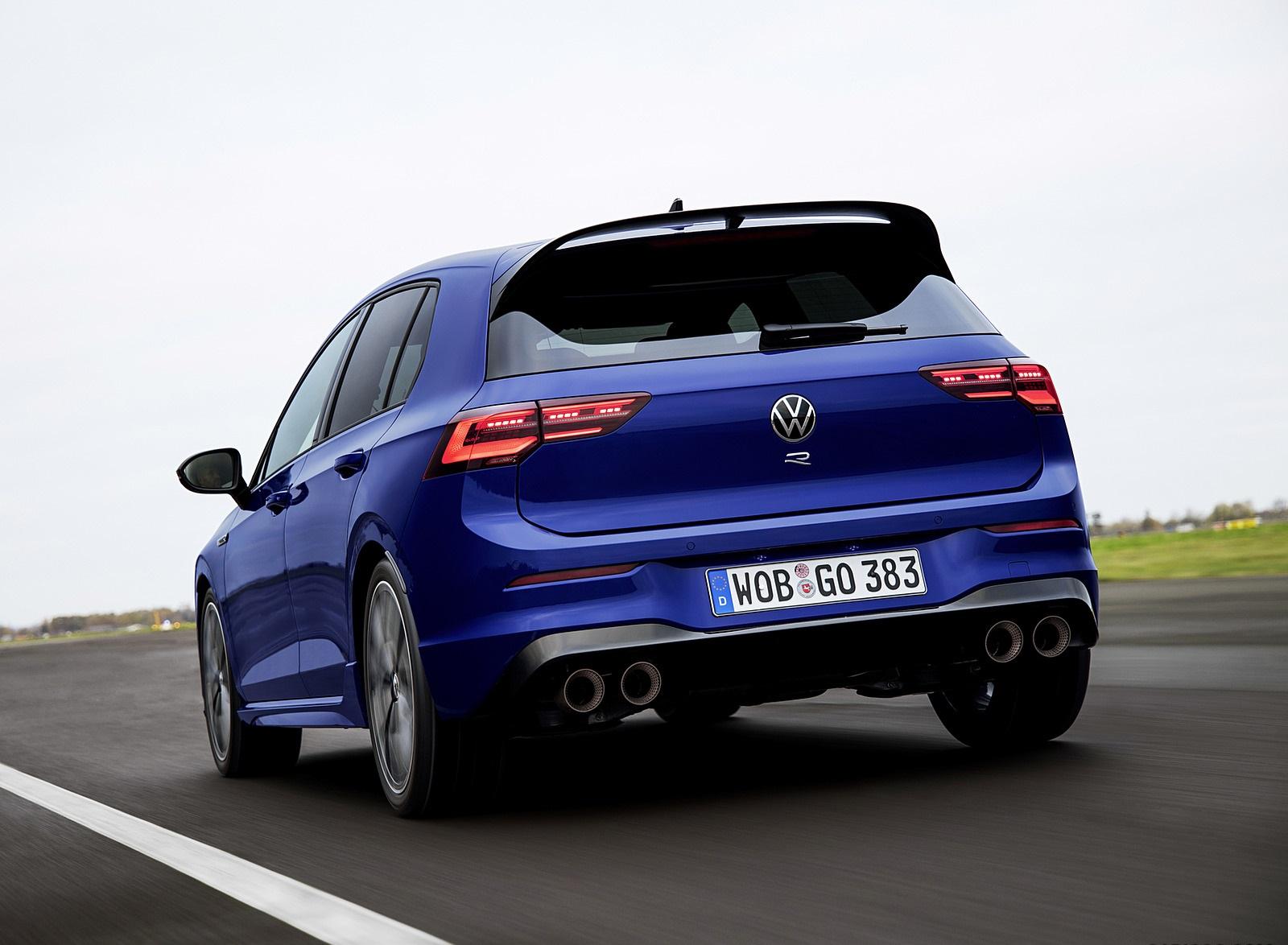 2022 Volkswagen Golf R Rear Three-Quarter Wallpapers (6)