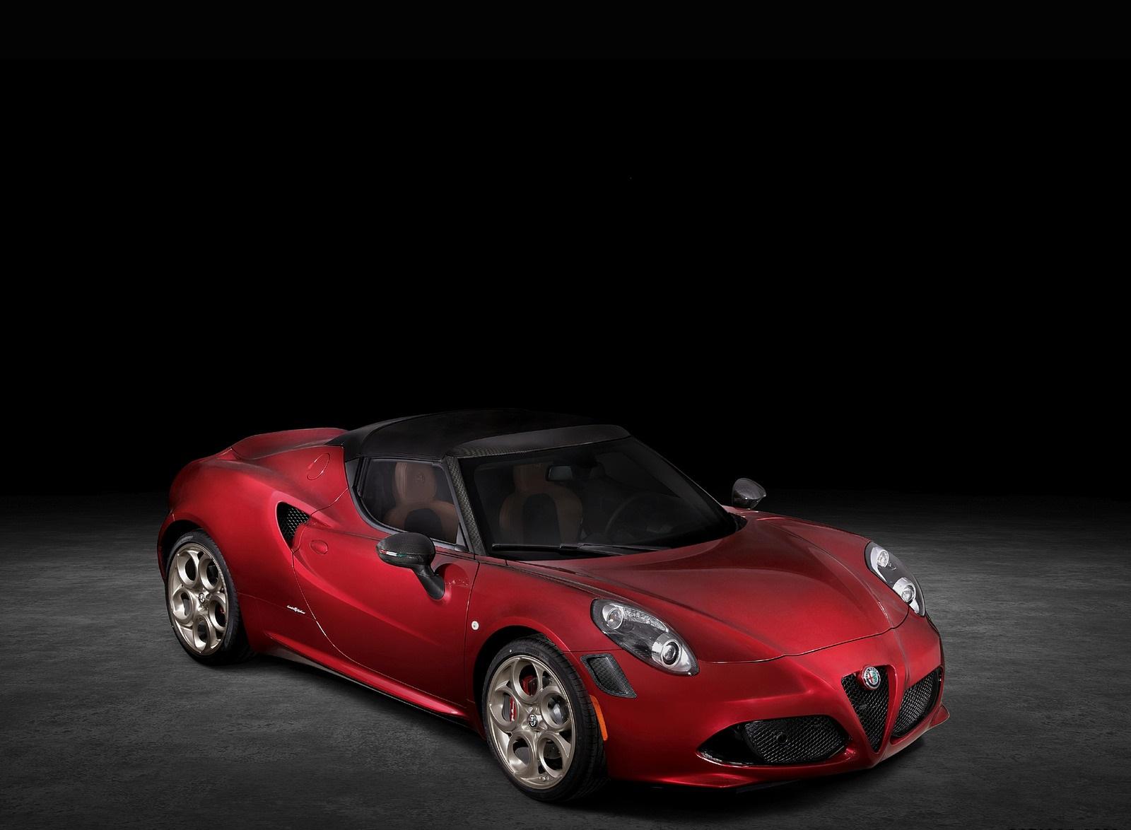2020 Alfa Romeo 4C Spider 33 Stradale Tributo Front Three-Quarter Wallpapers (3)