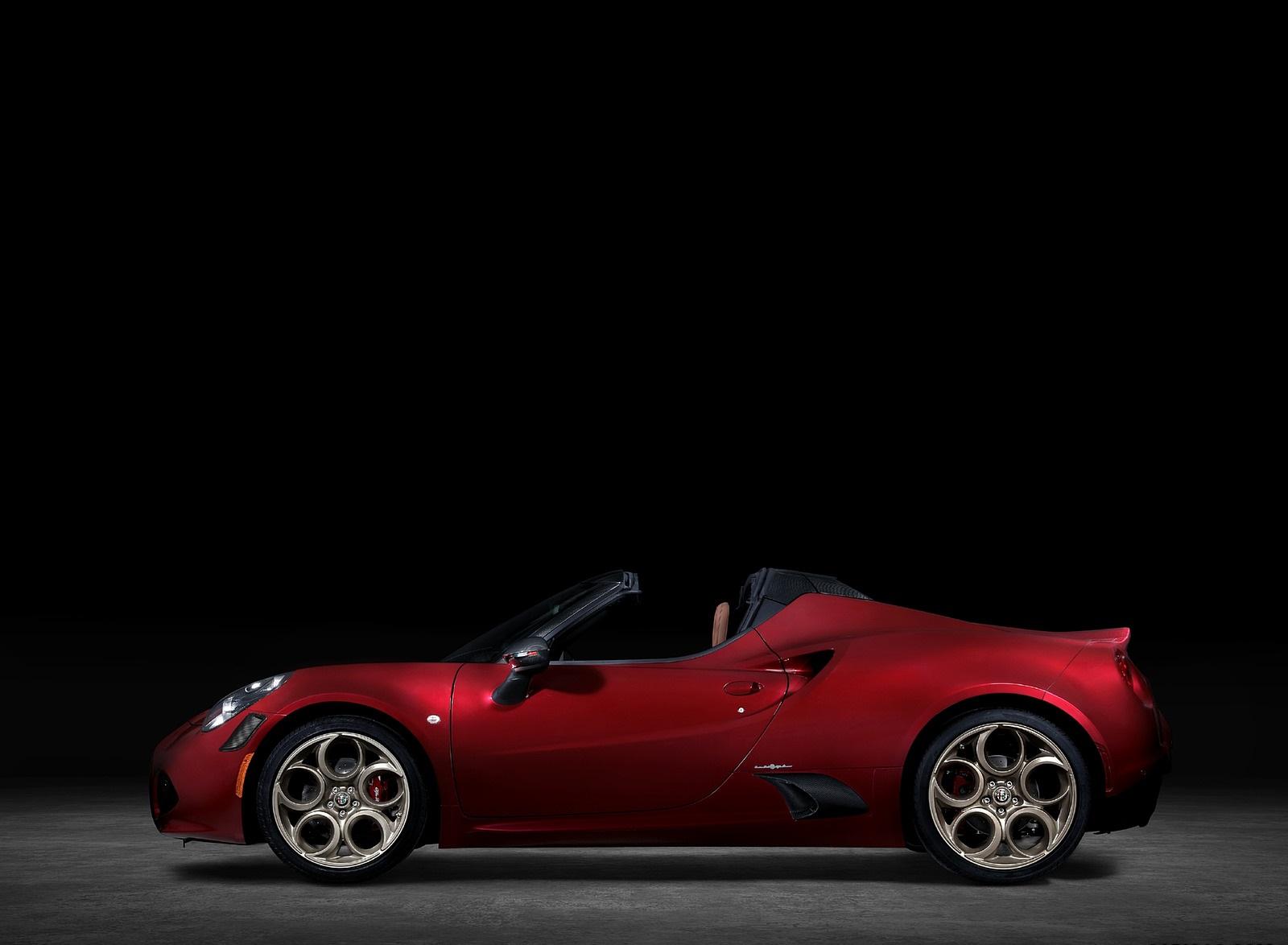 2020 Alfa Romeo 4C Spider 33 Stradale Tributo Side Wallpapers (9)