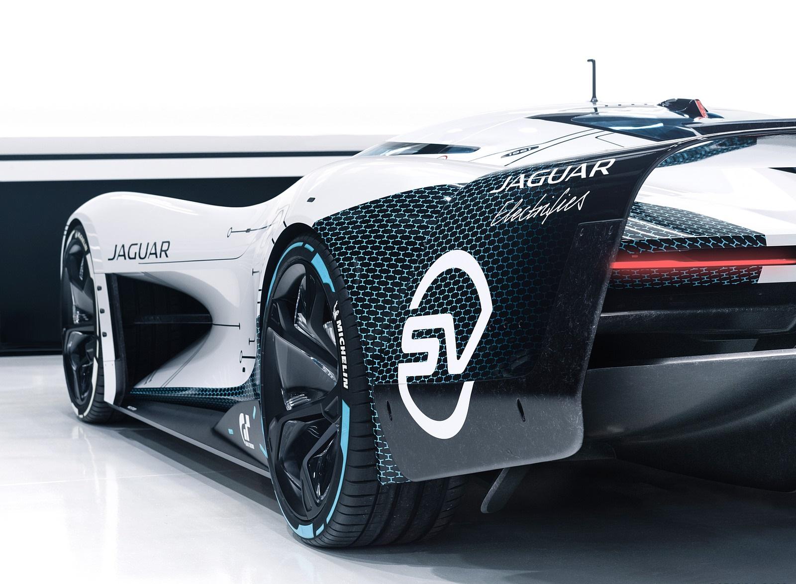 2020 Jaguar Vision Gran Turismo SV Detail Wallpapers (9)