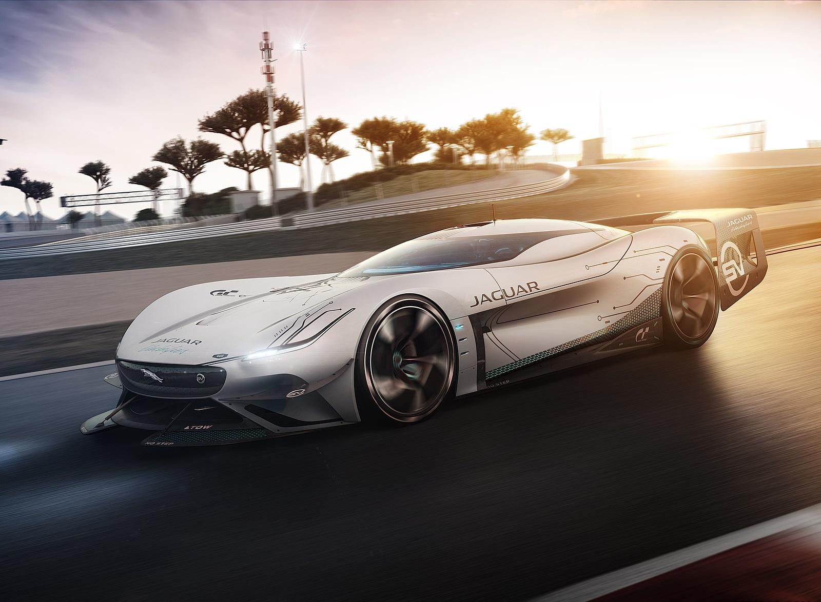 2020 Jaguar Vision Gran Turismo SV Front Three-Quarter Wallpapers (2)