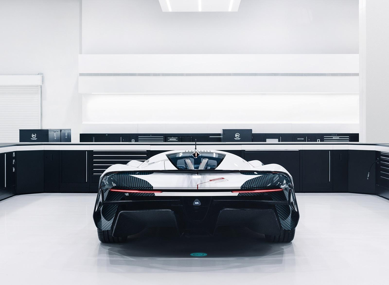 2020 Jaguar Vision Gran Turismo SV Rear Wallpapers (8)