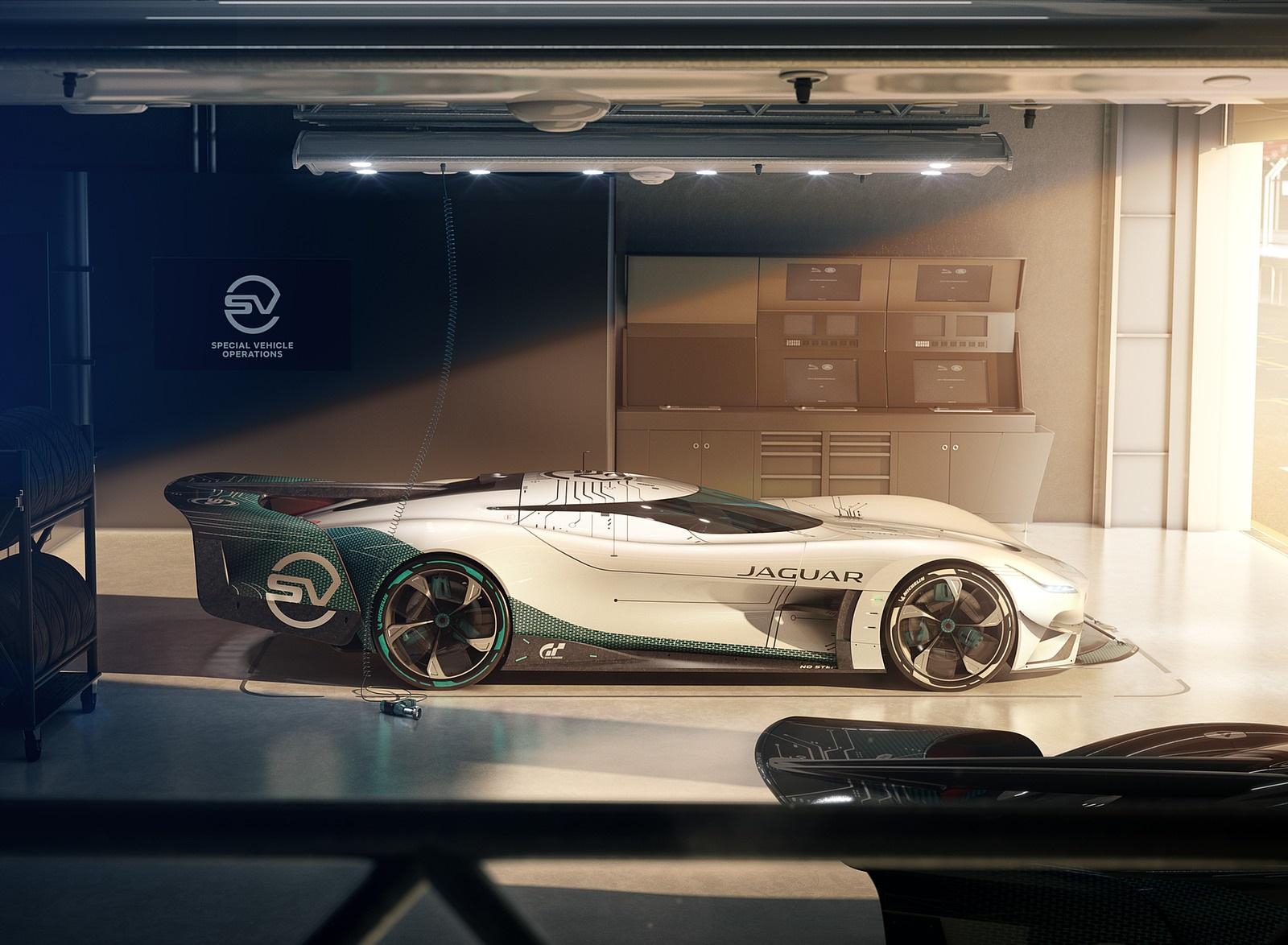 2020 Jaguar Vision Gran Turismo SV Side Wallpapers (10)