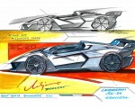 2020 Lamborghini SC20 Design Sketch Wallpapers 150x120 (41)