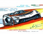 2020 Lamborghini SC20 Design Sketch Wallpapers 150x120 (40)