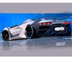 2020 Lamborghini SC20 Design Sketch Wallpapers 150x120 (36)