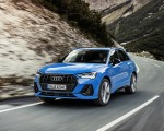 2021 Audi Q3 TFSI e Plug-In Hybrid (Color: Turbo Blue) Front Three-Quarter Wallpapers 150x120 (2)