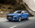 2021 Audi Q3 TFSI e Plug-In Hybrid (Color: Turbo Blue) Front Three-Quarter Wallpapers  150x120 (3)