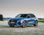 2021 Audi Q3 TFSI e Plug-In Hybrid (Color: Turbo Blue) Front Three-Quarter Wallpapers 150x120 (8)