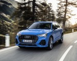 2021 Audi Q3 TFSI e Plug-In Hybrid (Color: Turbo Blue) Front Three-Quarter Wallpapers 150x120 (1)